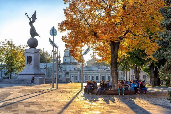 Для туристов: центр Харькова