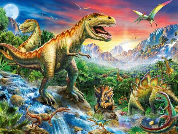 Выставка живых динозавров в Харькове